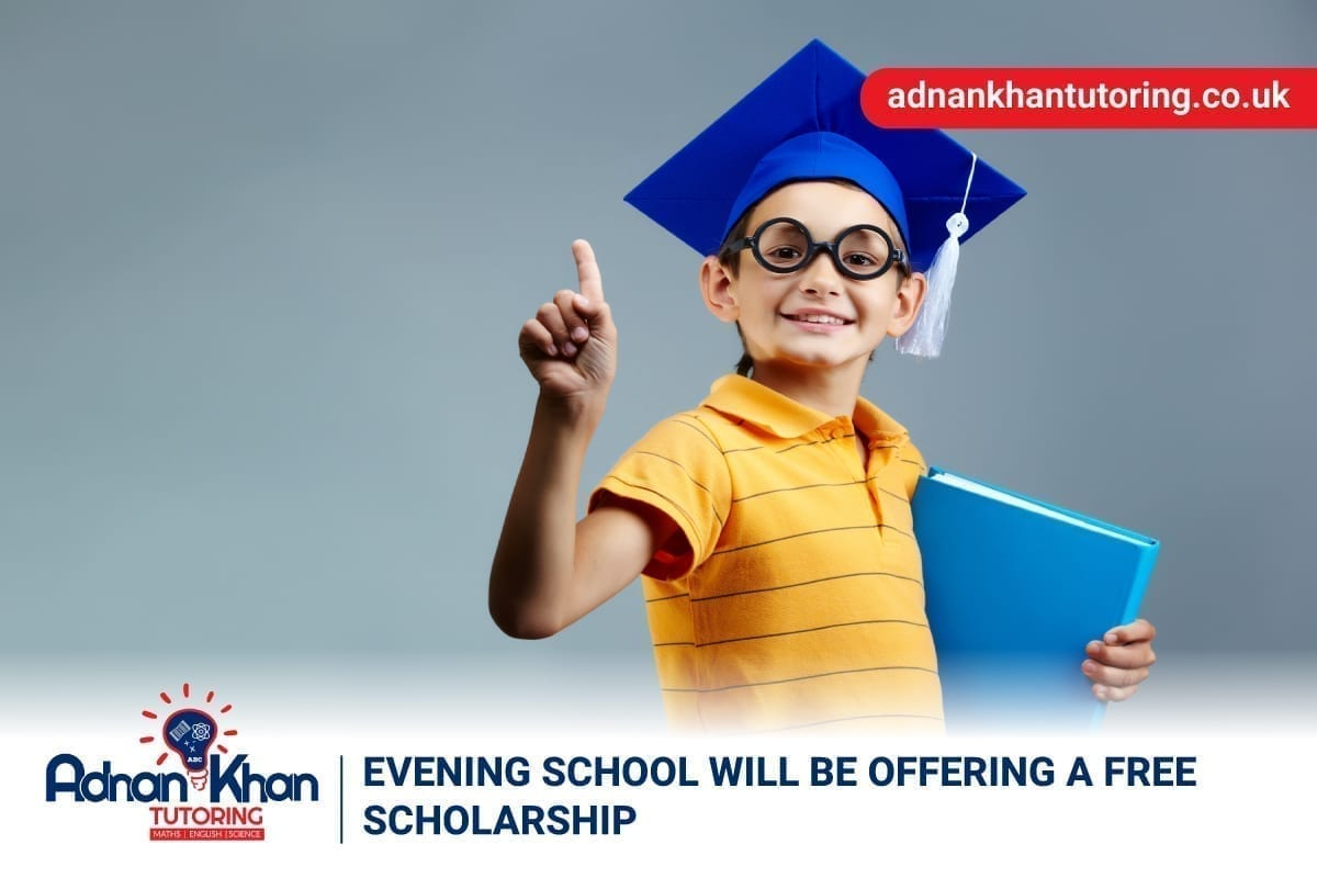 Evening School will be Offering a Free Scholarship