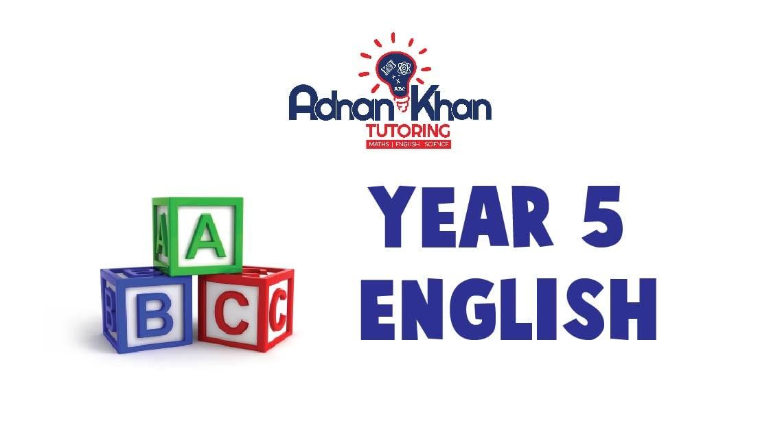 Year 05 English