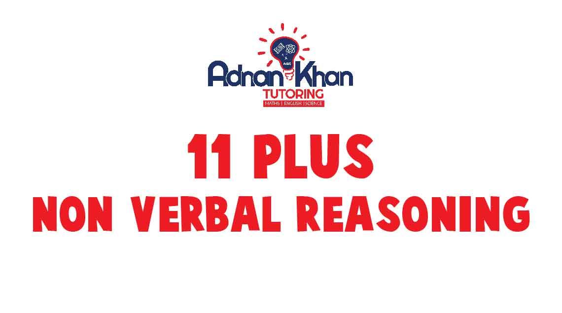 11 Plus Non Verbal Reasoning