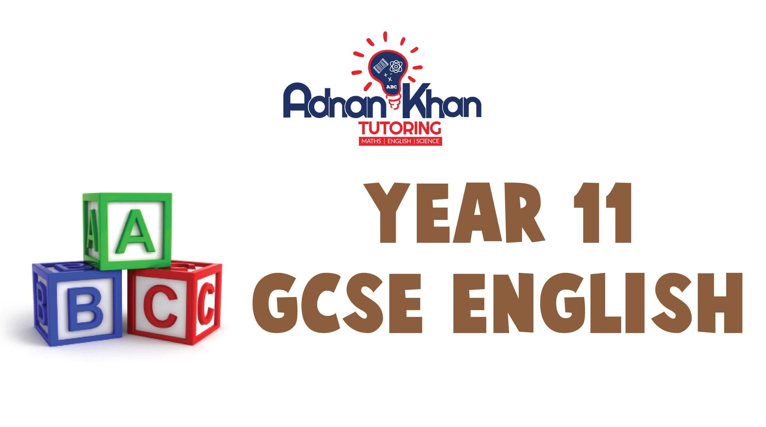 GCSE Year 11 English