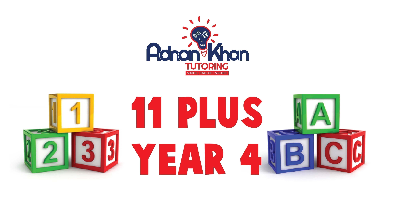 11 Plus Year 4 Adnan Khan Tutoring