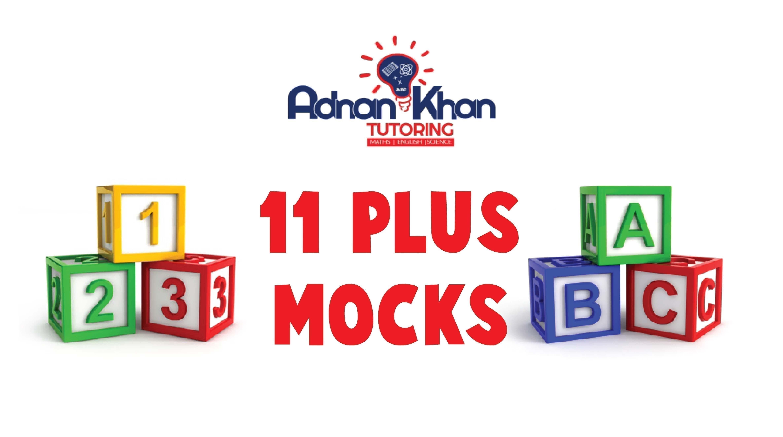 11 Plus Mocks Exam Adnan Khan Tutoing