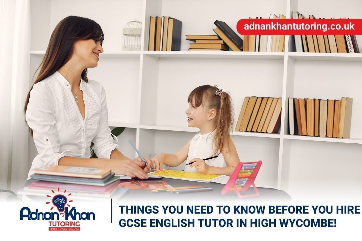 GCSE English tutor in High Wycombe