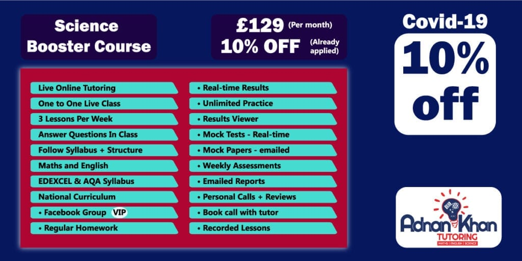pricing plan science tuition