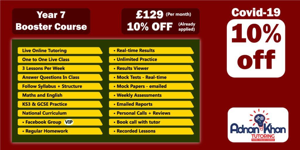 Year 7 tutors in Aylesbury, Year 7 tutoring, year 7 tutors, online year 7 tuition